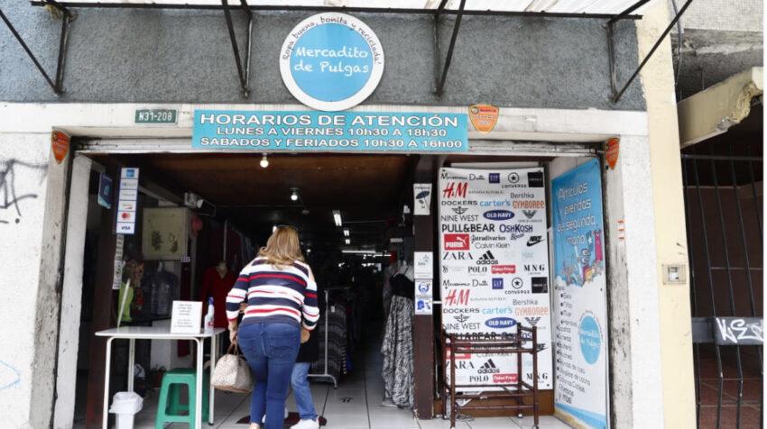 La tienda el Mercadito D'Carol en el norte de Quito, el 1 de abril de 2021.
