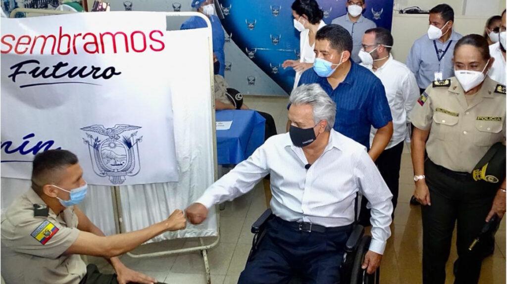Moreno dice que logró 'salvar al Ecuador de las manos mafiosas'