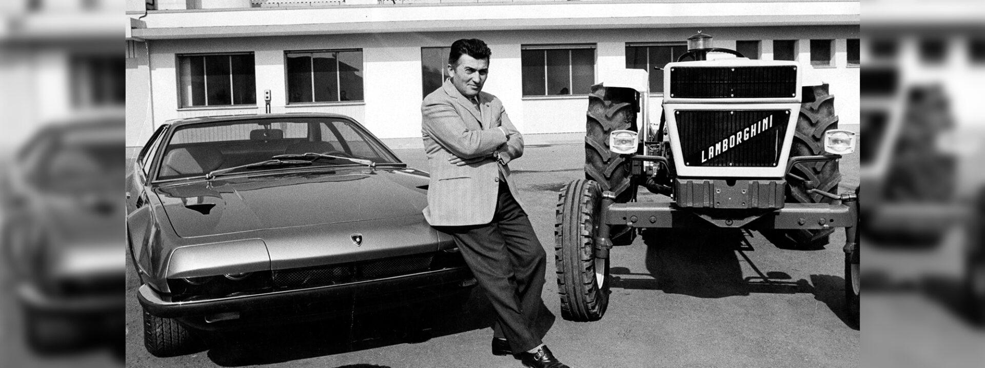 Ferruccio Lamborghini: 150 años de un ícono
