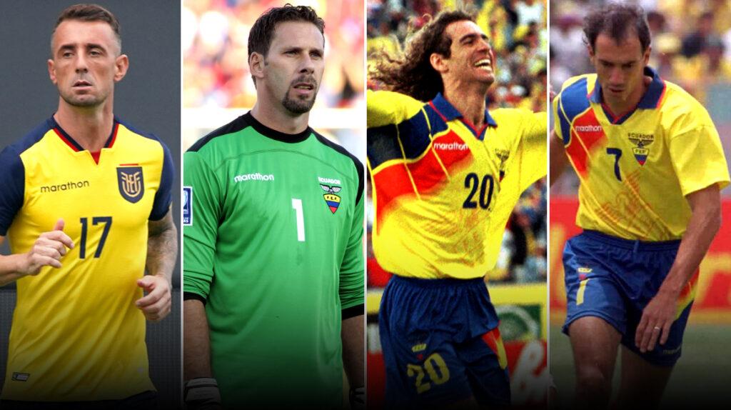 23 futbolistas nacionalizados han jugado en la selección ecuatoriana