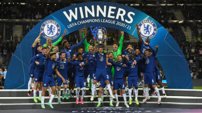 El Chelsea levantó su segunda Champions League, este sábado 29 de mayo, en el estadio do Dragao de Oporto.