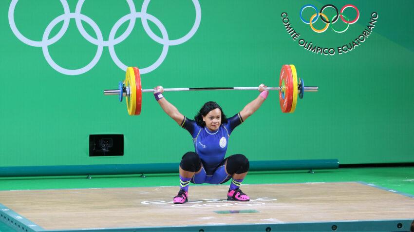 Neisi Dajomes, durante los Juegos Olímpicos de Río 2016.