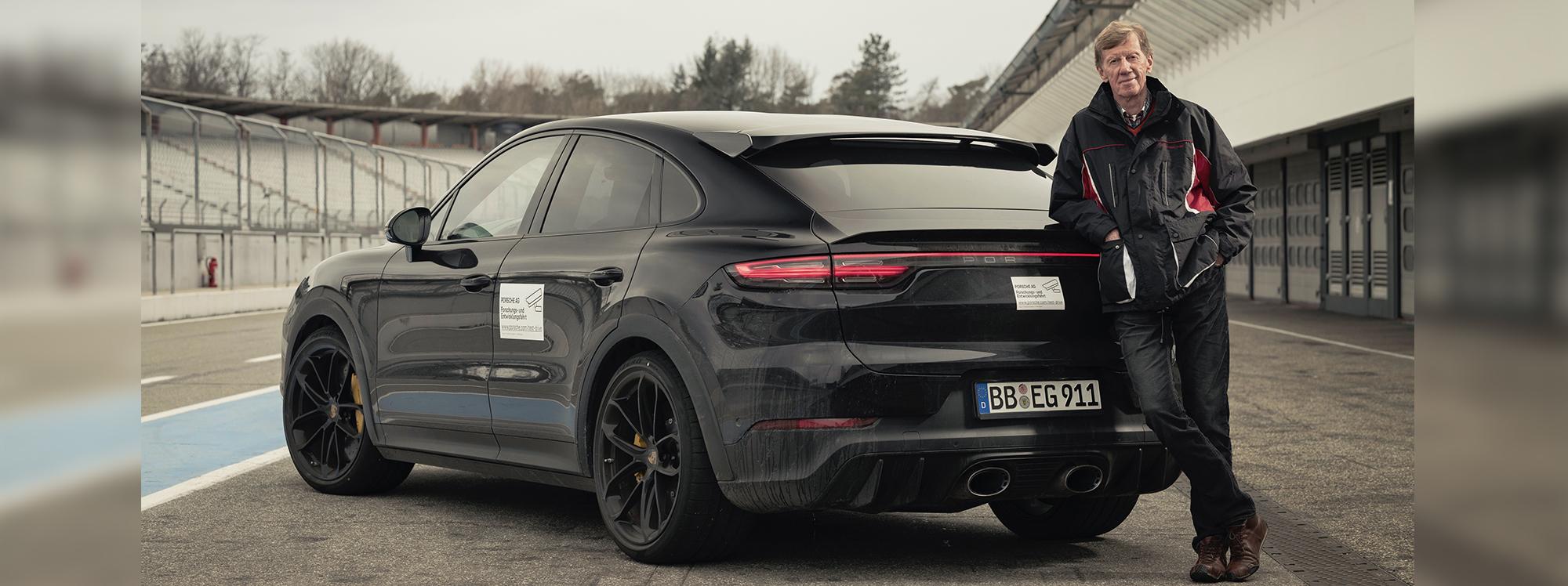 Walter Röhrl pone a prueba el proyecto secreto de Porsche