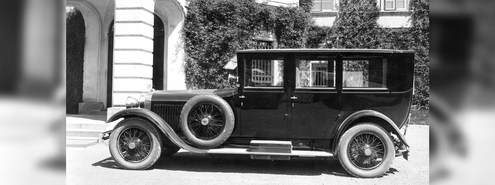 Esta limusina rompió esquemas hace casi un siglo