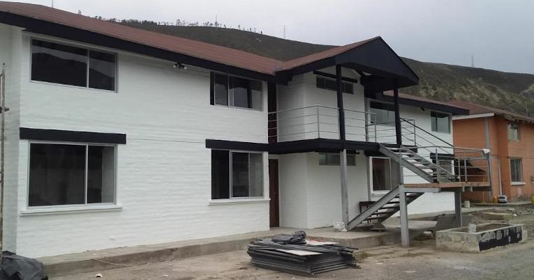 Vista panorámica de una de las casas remodeladas para las divisiones menores de Liga.