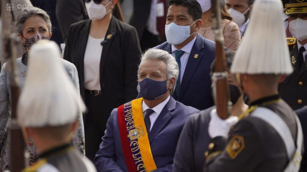 El expresidente Lenín Moreno abandona el país rumbo a Miami