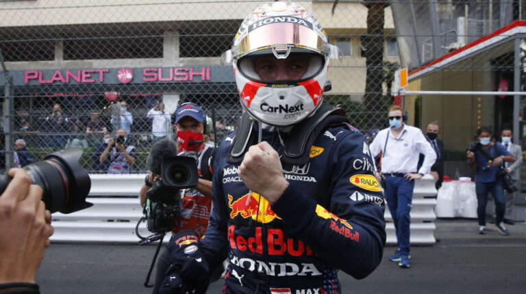 Monaco Grand Prix Max Verstappen