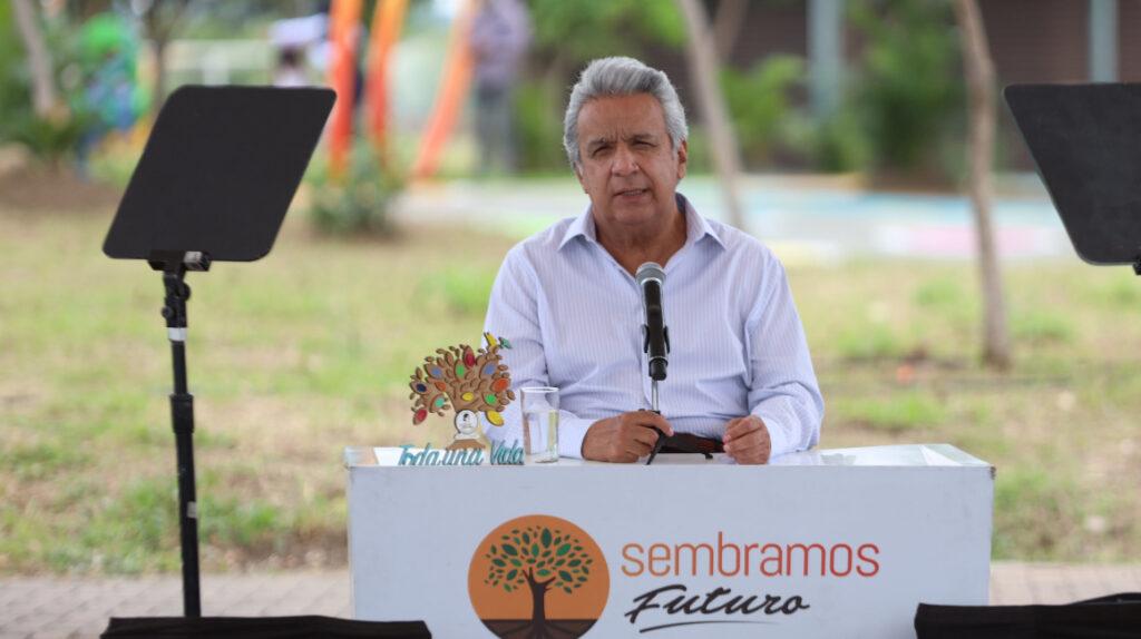 La rendición de cuentas de Lenín Moreno llega con cinco días de retraso