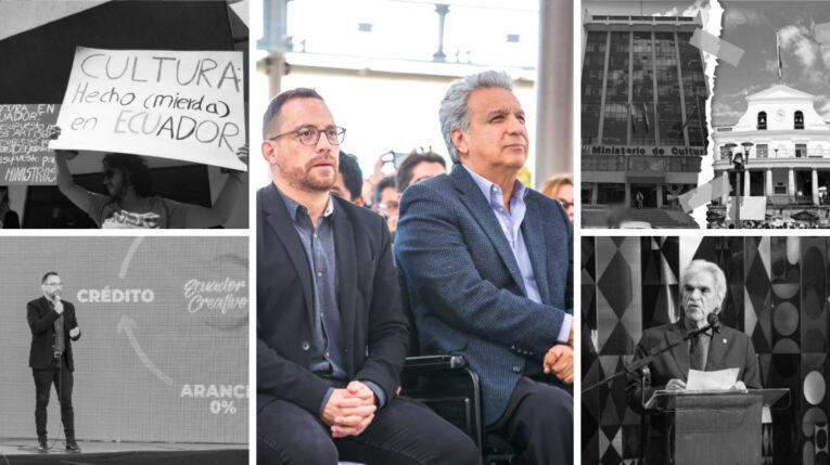 Proyectos, propuestas, Patrimonio en riesgo, reclamos y la no aplicación del Reglamento de la Ley de Cultura, esa es la herencia que deja el gobierno de Moreno en el sector.