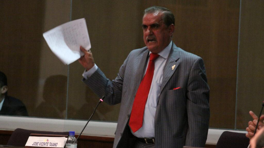 Vicente Taiano Álvarez asume como Gobernador del Guayas