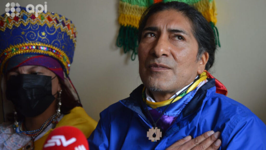 Yaku Pérez se aleja de Pachakutik tras acuerdo con Creo