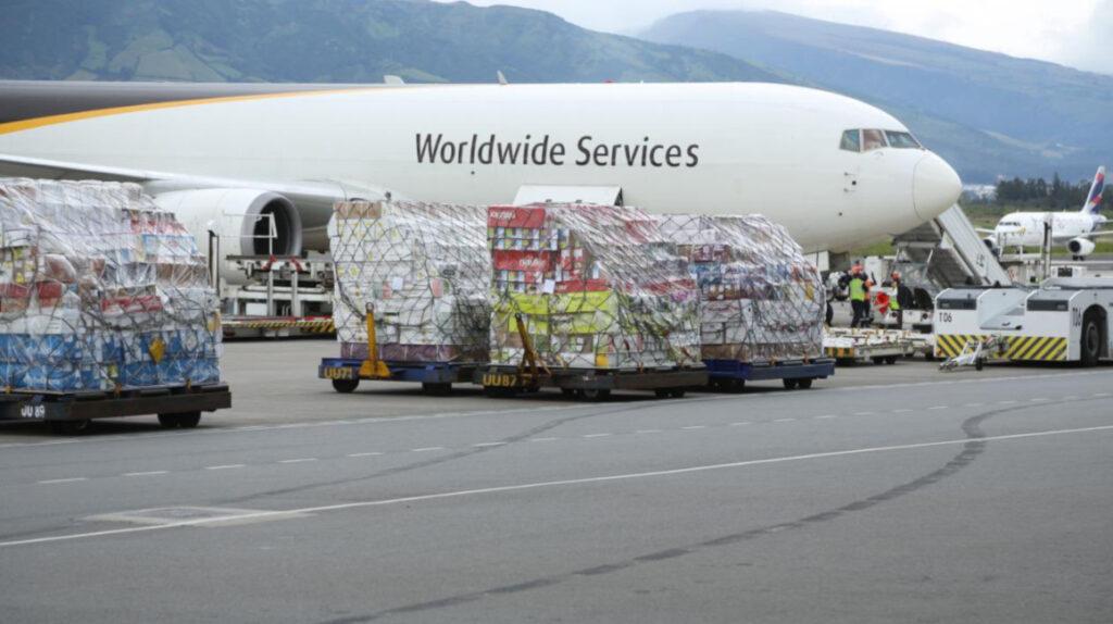 271.440 dosis de Pfizer llegaron a Ecuador este 3 de agosto