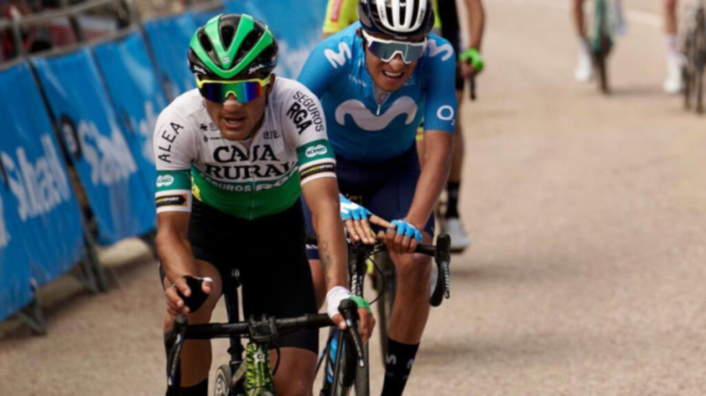 Jefferson Cepeda termina séptimo en la Etapa 1 de la Vuelta a Andalucía