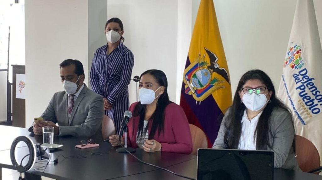 Freddy Carrión intenta cesar a la vicedefensora del Pueblo desde la Cárcel 4
