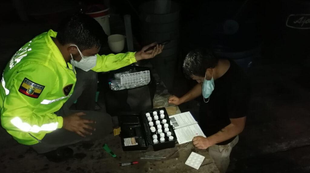 Policía, Ejército y Fiscalía desarticulan laboratorio de cocaína en Carchi