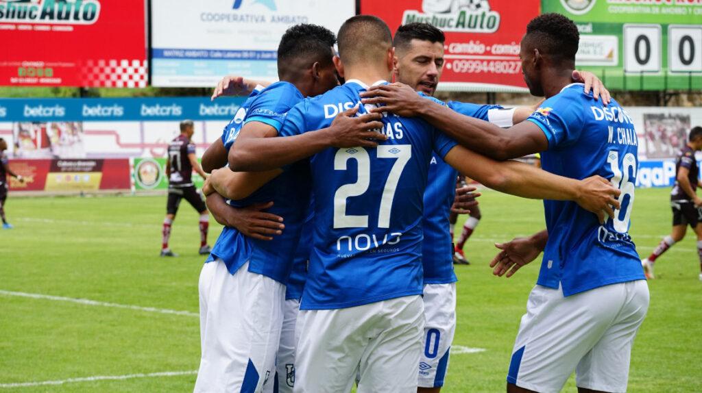 U. Católica, contundente: goleó como visitante 2-6 ante Mushuc Runa