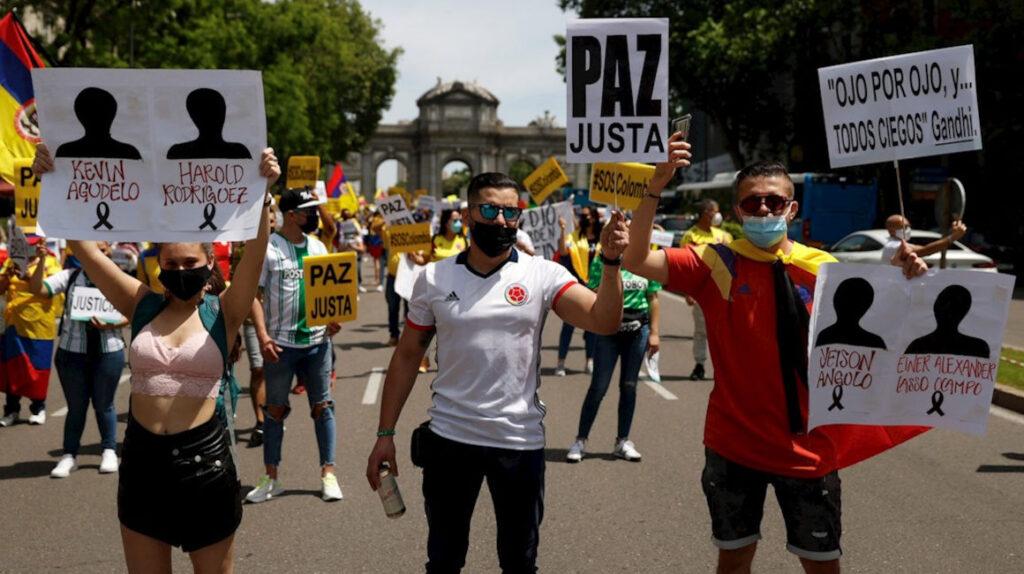 Las protestas en Colombia dejan cientos de personas desaparecidas