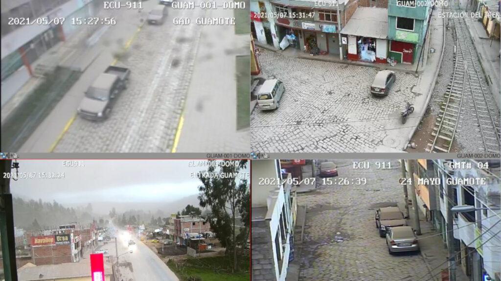 Ceniza del volcán Sangay afecta a dos cantones de Chimborazo