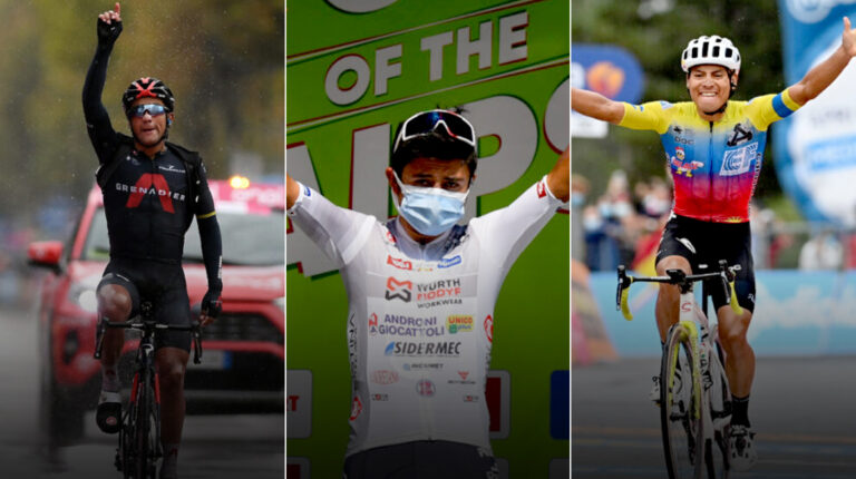 Giro ecuatorianos 2021