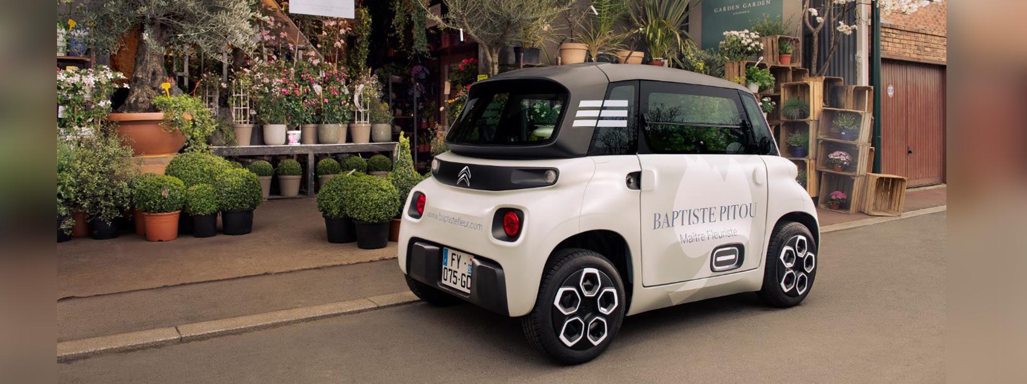 Así luce Citroën 'My Ami Cargo' para comercio ligero