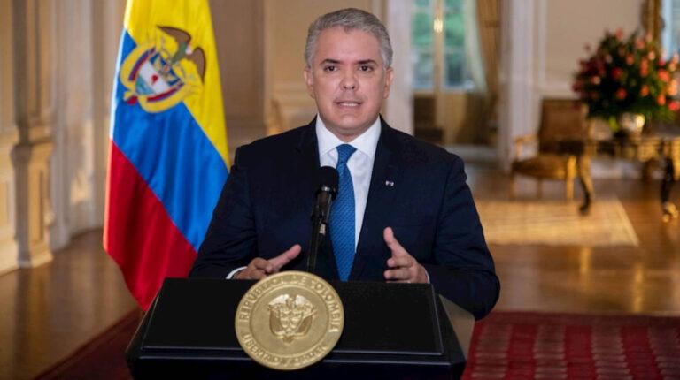 presidente colombia Iván Duque declaración casa Gobierno