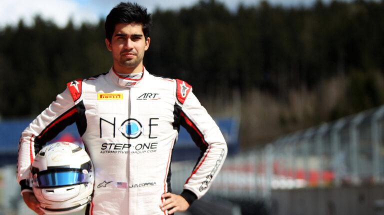 Juan Manuel Correa Fórmula 3