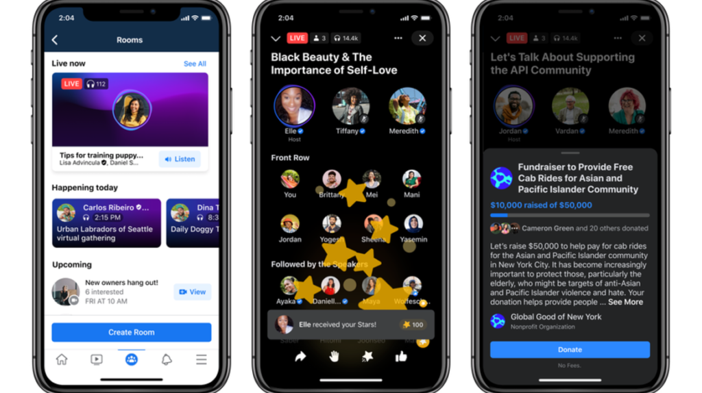 Facebook y Twitter apuestan por los podcasts y las salas de audio en vivo