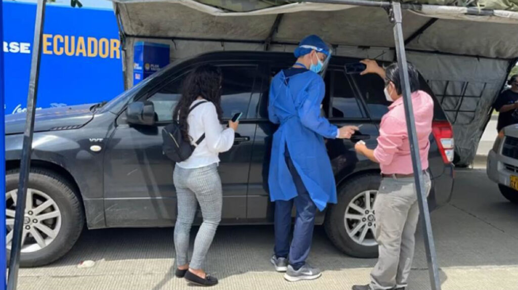 1 de julio de 2021: Ecuador suma 1.034 casos de Covid-19 en un día