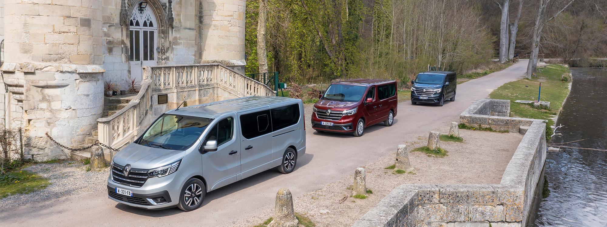 Renault estrena nueva gama de Vans