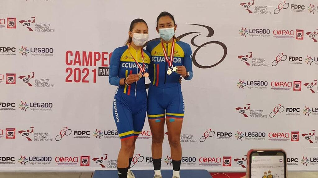 Miryam Núñez y Dayana Aguilar logran el bronce en el Panamericano de Pista