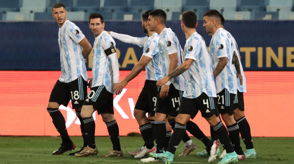 Argentina enfrentará a Ecuador en cuartos de final de la Copa América