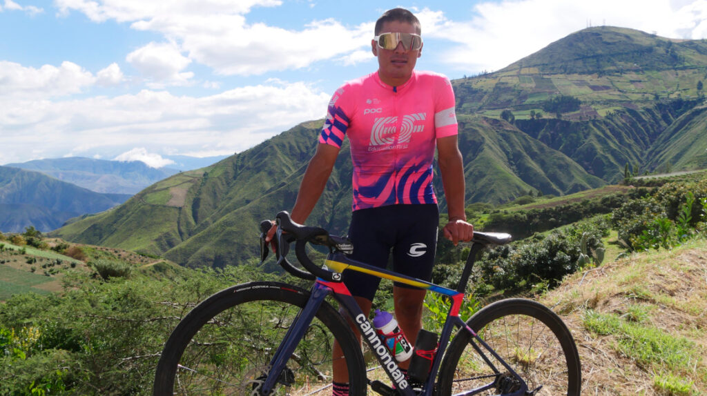Jonathan Caicedo prefiere correr con el EF a competir en Tokio 2021