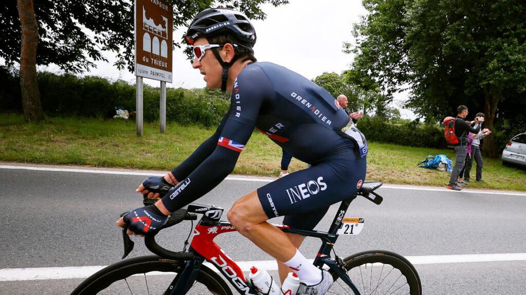 Geraint Thomas no tiene fracturas y podrá seguir en el Tour de Francia