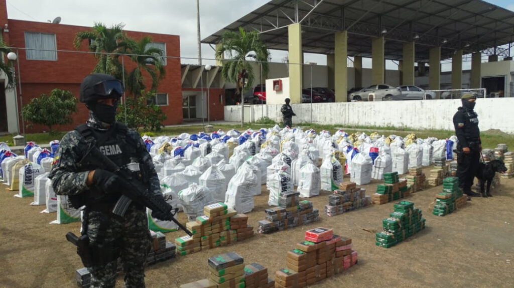 Ecuador podría 'aprovechar' inclusión en lista de países afectados por narcotráfico