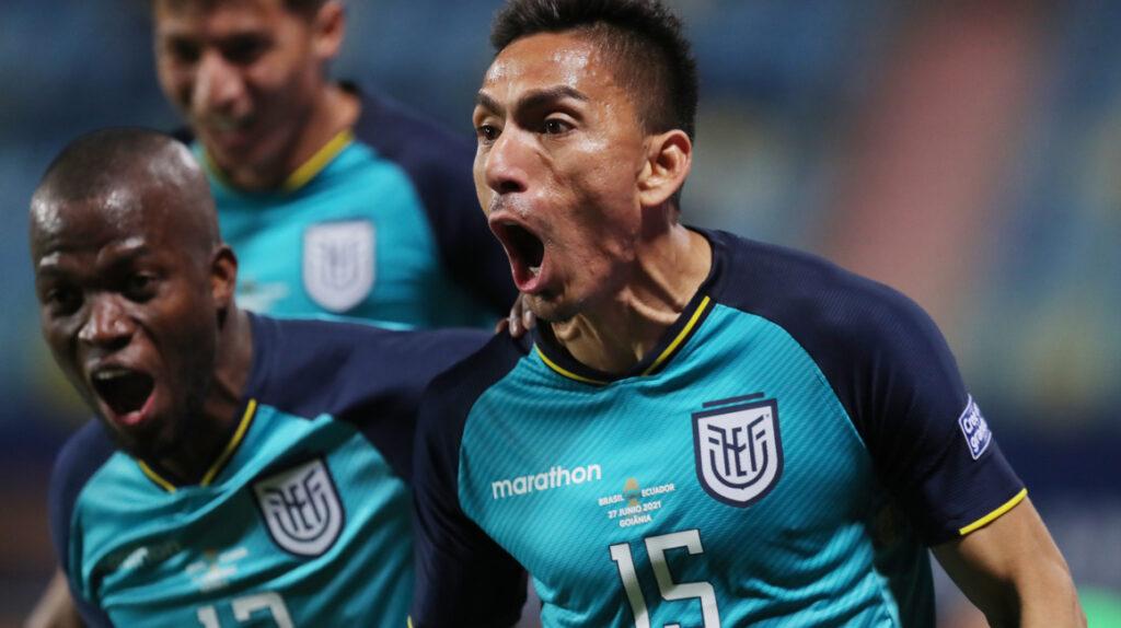 Ecuador empata ante Brasil y clasifica a cuartos de final de la Copa América