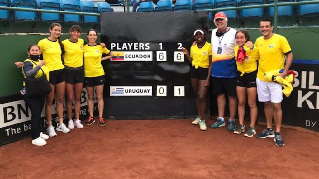 Ecuador jugará en el Grupo I América de la Billie Jean King Cup