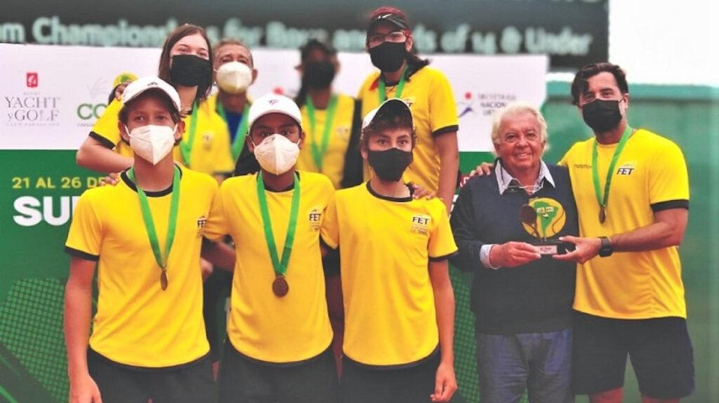 Las selecciones ecuatorianas Sub 14 de tenis clasifican al Mundial