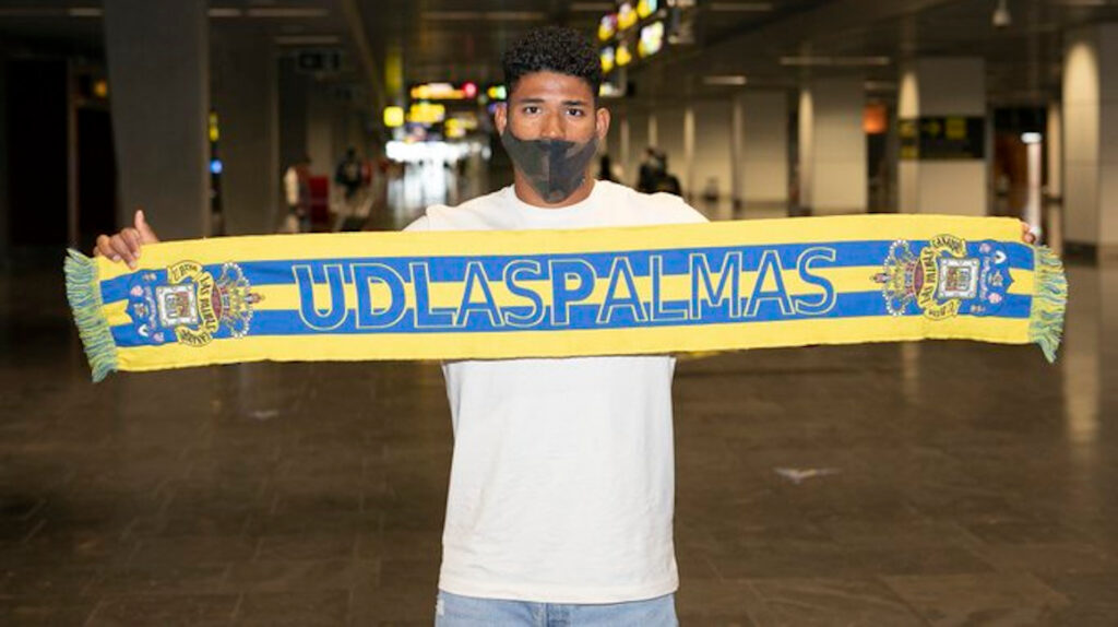 El ecuatoriano Erick Ferigra será presentado en Las Palmas de España