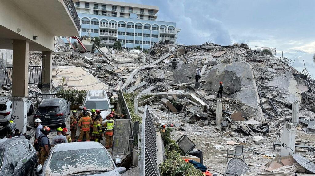 Identifican a cuatro de las nueve víctimas del derrumbe en Miami