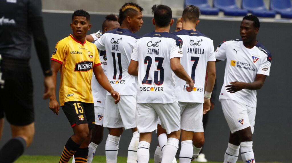 Liga de Quito le gana a Barcelona y se lleva la Supercopa Ecuador