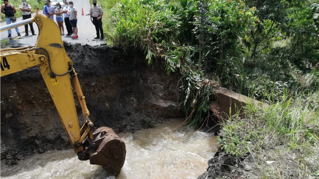 Fuertes lluvias ocasionan daños en la provincia de Pastaza