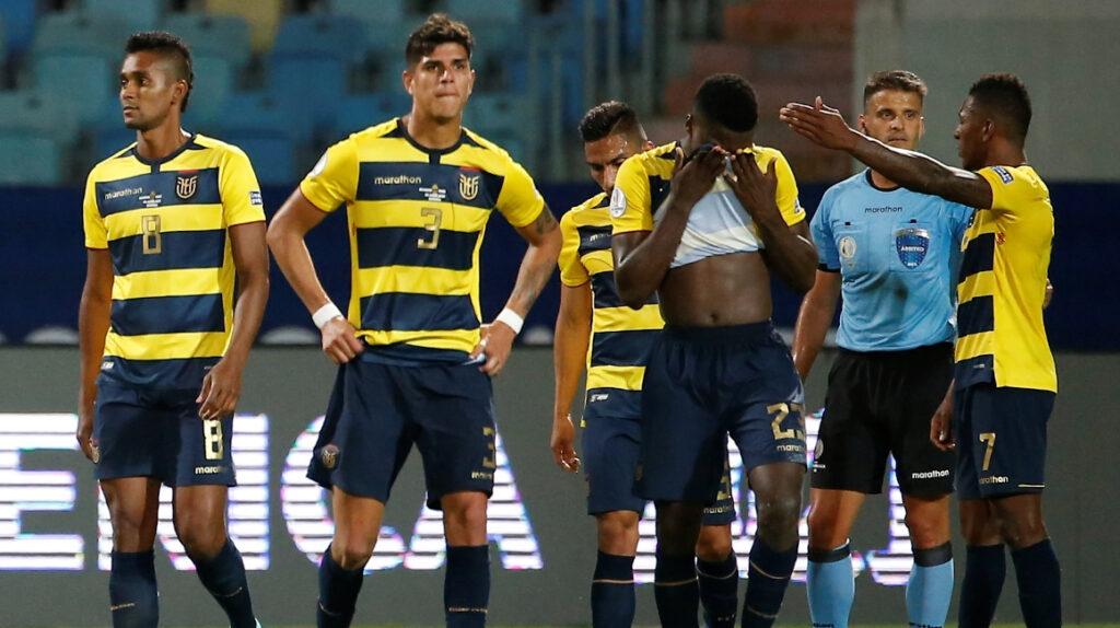 Ecuador desciende dos puestos en el ranking FIFA tras la Copa América