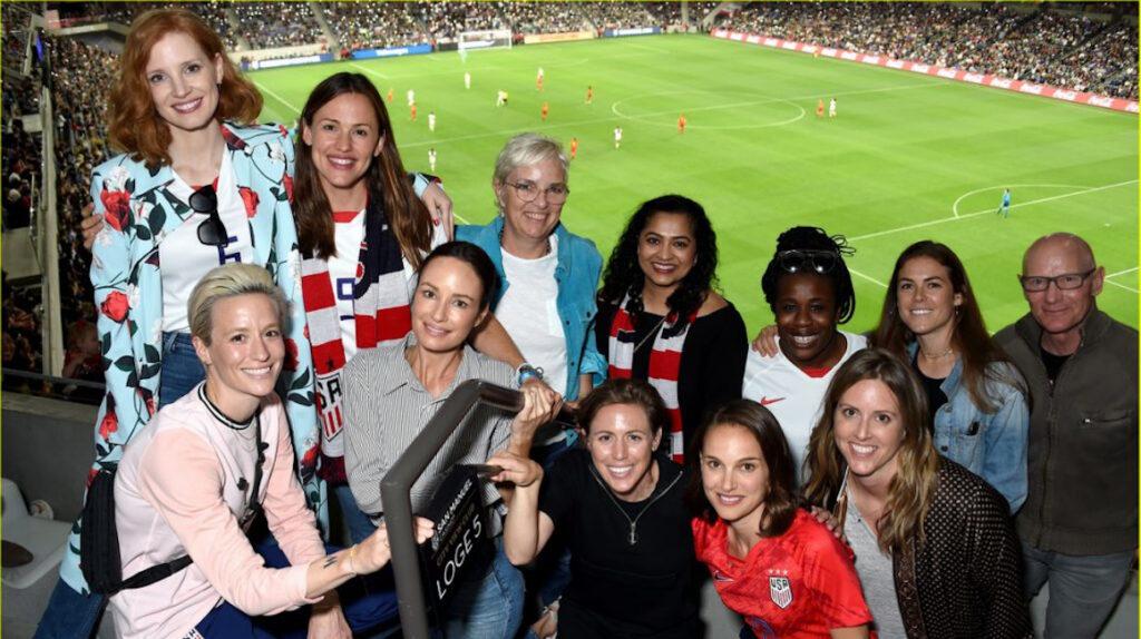 Natalie Portman y otras estrellas de Hollywood entran al negocio del fútbol
