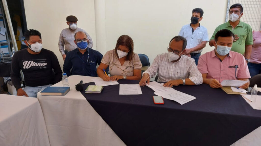 Petroecuador logra acuerdo para levantar bloqueo al acceso al campo Edén-Yuturi