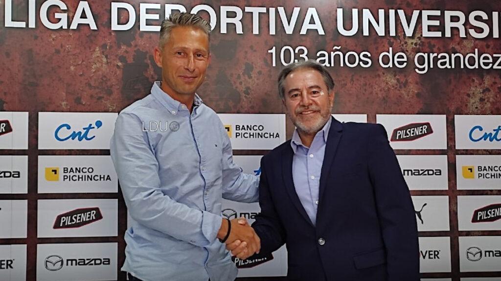 Los movimientos que ha hecho Liga de Quito, tras la salida de Repetto