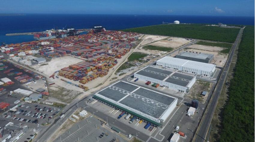 El puerto de Caucedo, en República Dominicana, administrado por DP World.