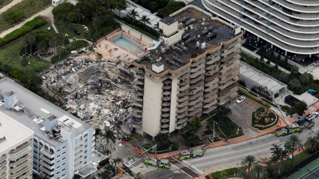 Suspenden rescate en edificio de Miami por peligro de derrumbe