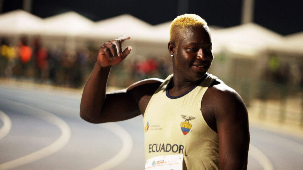 El lanzador de disco Juan Caicedo clasifica a los Juegos de Tokio 2021