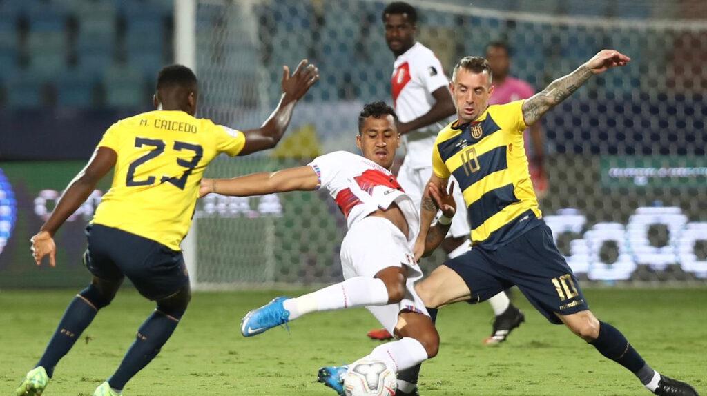 Ecuador no logra sostener el ritmo y queda casi eliminado de la Copa