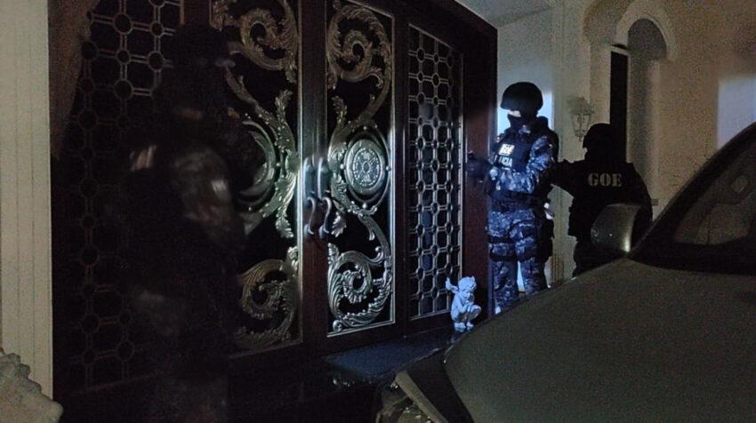 La Policía realizó la madrugada del 22 de junio varios allanamientos en Guayaquil, Daule y Samborondón, por el caso Isspol.